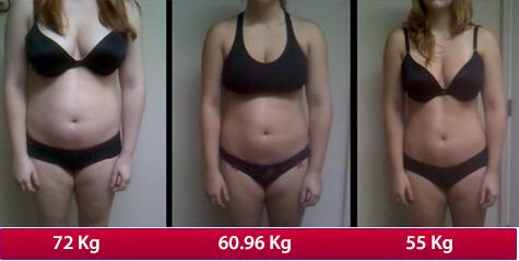 Vor und nach dem Herzolex Ultra und Pure Cleanse Ultra